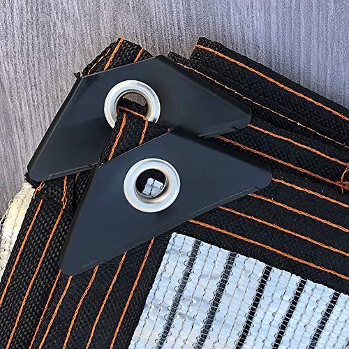 YXX-Filet d'ombrage Argent Tissu de Nuances Réfléchissantes avec Oeillets et Coins Renforcés - Feuille D'aluminium Voile D'ombrage pour Le Patio, La Véranda Et La Piscine (Size : 4m×5m)