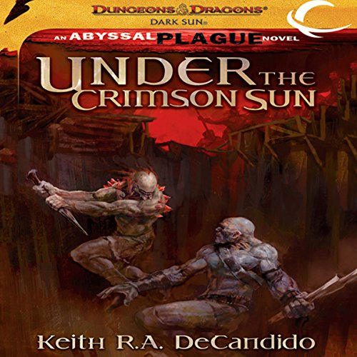 Under the Crimson Sun audiobook cover art