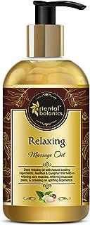 Oriental Botanics ORBOT13 Relaxing Body Massage Oil (200ml)
