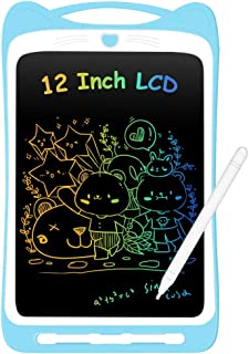 AGPTEK 12Inch Colorful LCD Writing Tablet for Kids Digital E-writer Pads Gifts Portable Electronic Writing Drawing Board M...