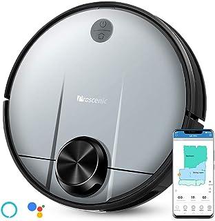 Proscenic M6 PRO Robot Aspirapolvere, con Tecnologia Navigazione Laser LDS, Robotino Lavapavimenti con APP & Alexa Conteni...
