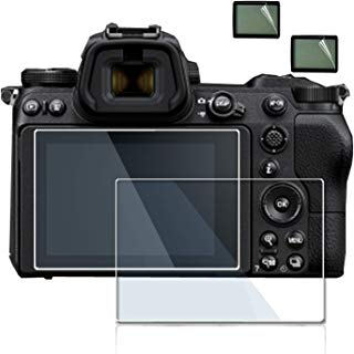 debous Screen Protector Compatible Nikon Z7 Z6 FX-Format Mirrorless Camera,Anti-Scratch Tempered Glass Clera Hard Protective Film Shield Cover (2pack)