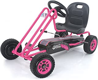 Best hauck lightning ride on pedal go kart pink Reviews