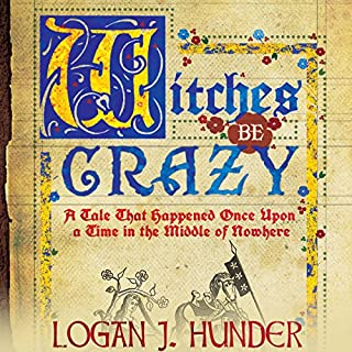 Witches Be Crazy audiobook cover art