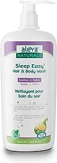 Aleva Naturals 37934 Sleep Easy Hair & Body Wash, 240ml