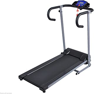 HPD 1100W Folding Electric Treadmill Portable Motorized Running Machine