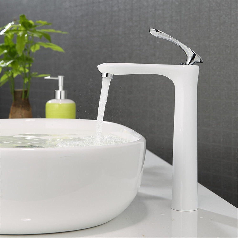 Gyps Faucet Basin Mixer Tap Waterfall Faucet Antique Bathroom Mixer Bar Mixer Shower Set Tap antique bathroom faucet Paint basin faucet single hole cold and hot tub on the wash basins wash-basin mixer