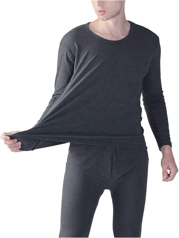 Jinqiuyuan Autumn Winter 9XL 10XL Men Long Johns Thermal Leggings Underwear Plus Size 7XL 8XL Elasticity Man Soft Underwear Pants Bottoms (Color : Gray, Size : 8XL 120 130kg)