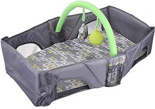 DEWELベビーベッド 折り畳み ベッドインベッド 携帯型ベッド 添い寝ベッド 洗濯可 出産祝い 収納便利 身長78CMまで対応( 0~12ヶ月の赤ちゃんに対応) 帰省 運びやすい 超軽量