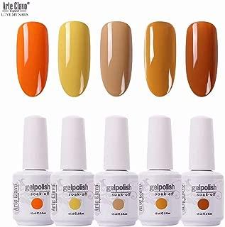Arte Clavo 15ml Varnish Soak Off UV Led Nail Gel Polish Nail Art Salon Set 508 of 5 Colors