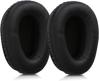 kwmobile 2X Almohadillas para Auriculares Compatible con Logitech UE 6000 - Almohadilla de Cuero sintético para Cascos