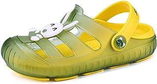 Zuecos para Unisex Niños Sandalia Zapatos Zapatillas Chanclas de Playa de Verano 22-29