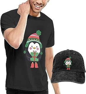 Baostic Camisetas y Tops Hombre Polos y Camisas, Christmas Penguin ...