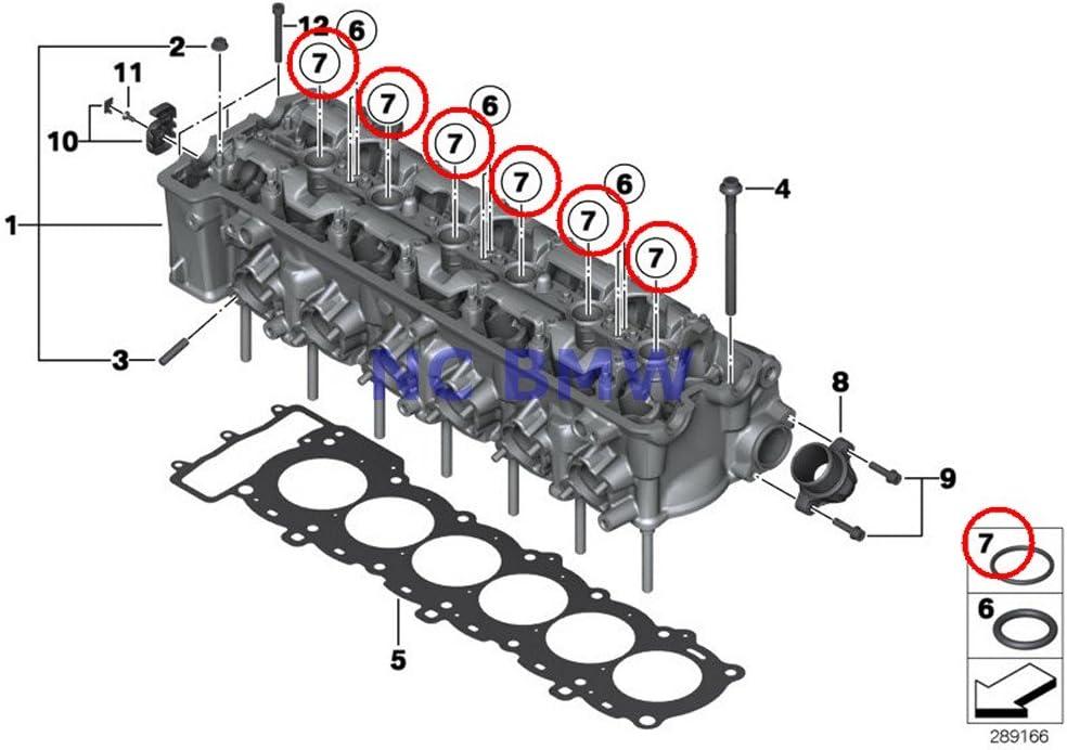 Discount mail order BMW Fashion Genuine Motorcycle Cylinder 24X4 Head O-Ring
