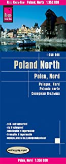 Polonia Norte, mapa de carreteras impermeable. Escala 1:350.000. Reise Know-How.: world mapping project