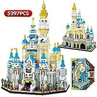 ナノミニブロックの城の建物を設定し、DIYおもちゃキット、キッドティーンエイジャーや大人のための建築モデル教育玩具ギフト5297 PCS