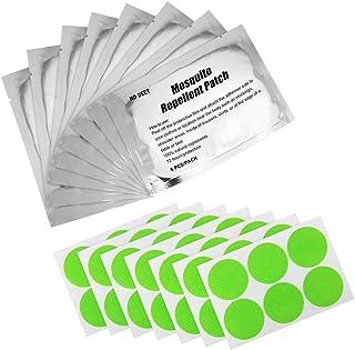 Golrisen Pegatinas Antimosquitos,90 unids Pegatinas Repelentes de Mosquitos,Material de Citronela...