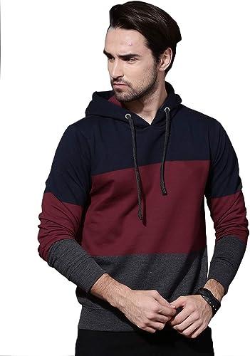 Men s Cotton Hooded Sweatshirt