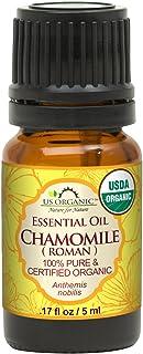 Sponsored Ad - US Organic 100% Pure Chamomile (Roman) Essential Oil - USDA Certified Organic, Steam Distilled - W/Euro Dro...