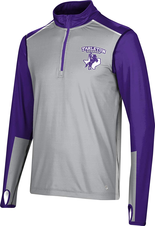ProSphere Tarleton State University Fashionable Men's Selling rankings Zip Long Quarter Sleev