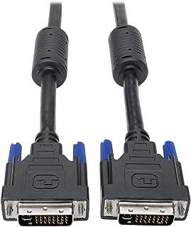 كابل الشاشة الرقمية والتناظرية المزدوجة DVI-I من Tripp Lite (DVI-I M/M)، 2560 × 1600، 4.5 متر. (P560-015-DLI)، 10 أقدام