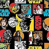 Star Wars Flanellstoff – CAMFLAN08 Star Wars Charaktere