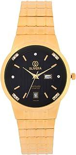 اوليفيرا ساعة يد رجال- انالوج بعقارب - OG2354