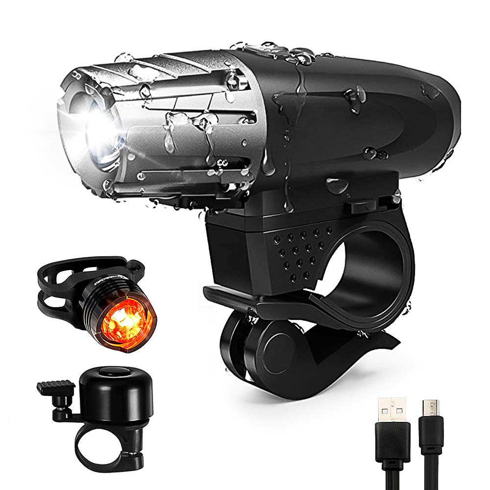 Bike Bicycle Light Set Rechargeable