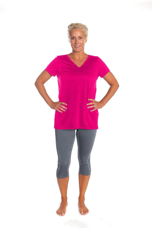 Katie K. Active Womens Capri Workout Regular discount Runnin Pockets Pants Yoga Superlatite