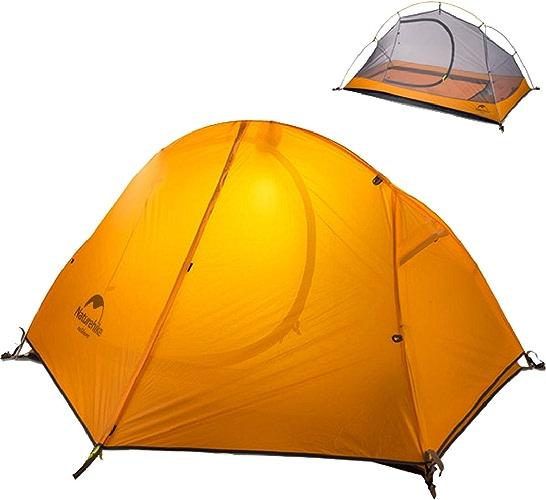 TRIWONDER 1-2 Personne 3 Saison Backpacking Tente Camping Tente Léger étanche Double Couche pour Camping Randonnée Voyage