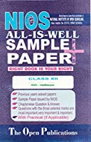 NIOS TEXT 333 ENVIRONMENTAL SCIENCE 333 NIOS HINDI MEDIUM ALL-IS-WELL SAMPLE PAPER PLUS + WITH PRACTICALS [Paperback] [Jan 01, 2017] EXPERT AND PERFECT TEAM OF NIOS TEACHERS AND PUBLISHERS