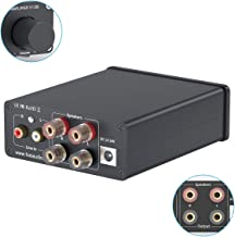 2 Channel Amplifier Stereo Audio Amp Mini Hi-Fi Class D Integrated TPA3116 Amp for Home..