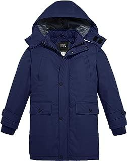 Boy's and Girl's Outdoor Waterproof Parka Hooded Fleece Ski Jacket