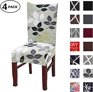 Dining Chair Cover Seat Protector Super Fit Slipcover Stretch Removable Washable Soft..