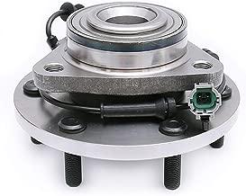 FKG 515125 Front Wheel Bearing Hub Assembly fit for 2008-2010 Infiniti QX56 4WD, 2008-2012 Nissan Armada 4WD/AWD, 2008-2012 Nissan Titan 4WD/AWD 6 Lugs W/ABS