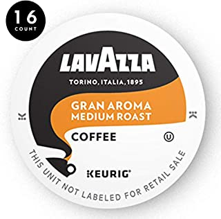 Lavazza Gran Aroma Single-Serve Coffee K-Cups for Keurig Brewer, Medium Espresso Roast, 16-Count Box