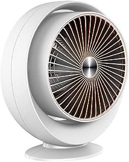 Cajolg Calefactor Portatil,800 W de Aire Caliente Fuerte Fast Heater Handy Calentador,Cronotermostato Calefaccion Eléctrico,Blanco