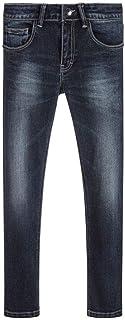BOSS Boys Basic Denim Pants Medium Blue, Sizes 6-16