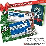 Die Kleine Therapie für Schalke-Fans | 2X süße Saison-Schmerzmittel | Witzige Geschenke & Fanartikel by Ligakakao.de | Besser als Kaffee-Tasse, Kaffeepott, Becher oder Fahne