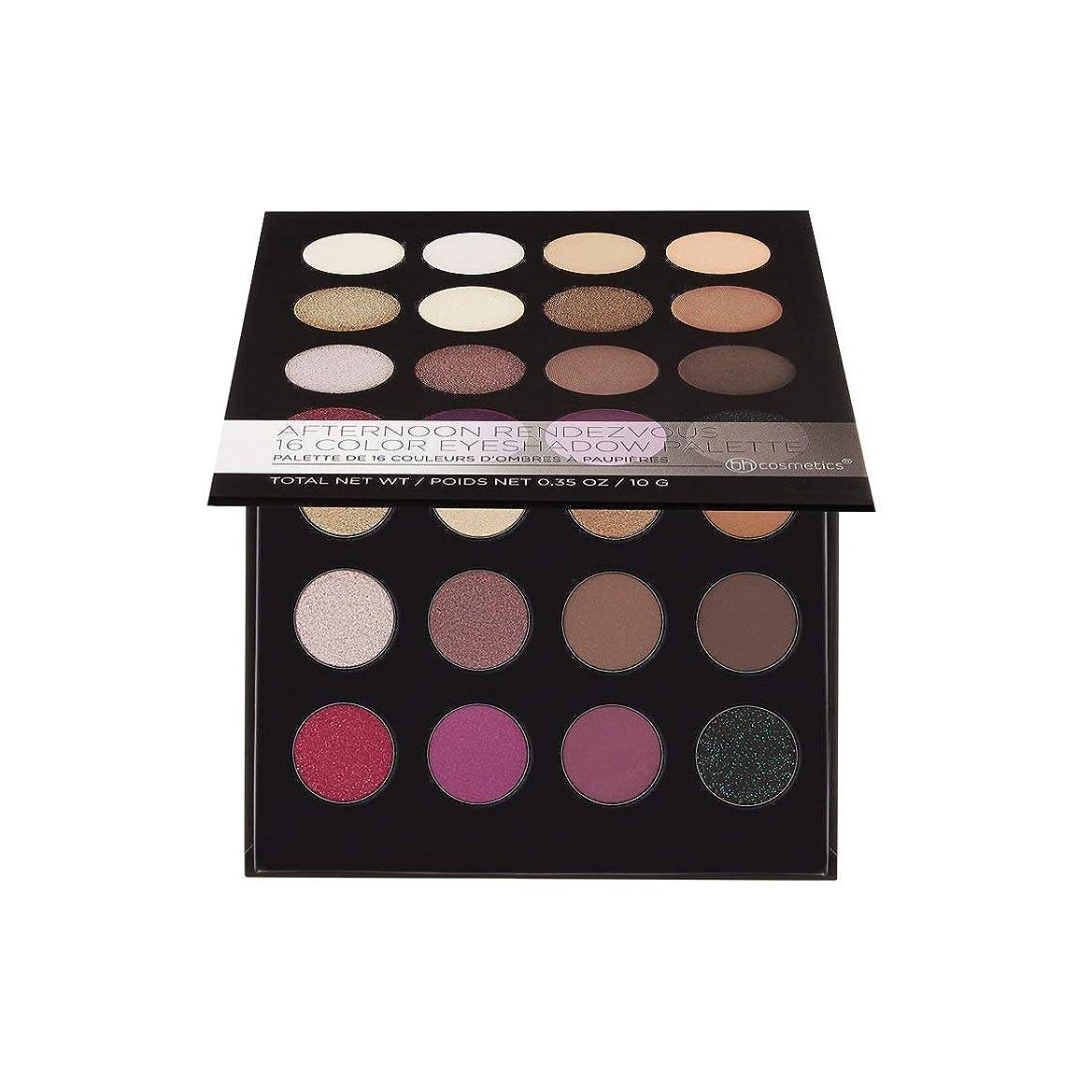 指令上昇ノートBH Cosmetics Afternoon Rendezvous - 16Color Eyeshadow Palette