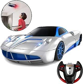 SHARKOOL ラジコンカー 車のおもちゃ 壁を走る車 無線操作 こども向け 電動 RCカー 室内 壁・天井・床 激走カー LED搭載 360度回転 男の子 子供のおもちゃ 贈り物
