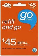 at&t 10 dollar refill card