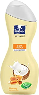 Parachute Advansed Body Lotion Soft Touch, With Honey, 100% Natural, Dry Skin Moisturizer, Silky Smooth Skin, 250 ml