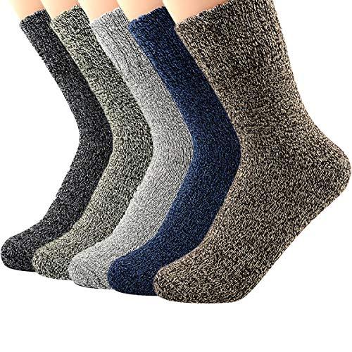 Retro Thick Warm Soft Wool Socks