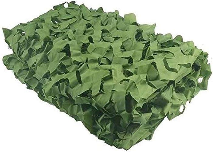 ZHAOHUI Filet De Camouflage Voile D'ombrage Crème Solaire Filet De Camouflage Tissu Oxford De Plein Air Vert Armée Jungle Camping La Photographie (Couleur   vert, Taille   8x10m)