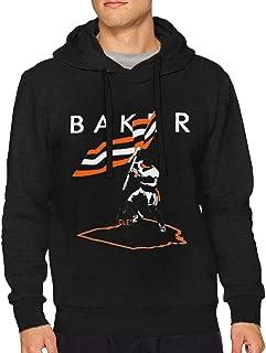Baker Mayfield Flag Plant Men's Cotton Fit Hoodie Sweatshirt Black