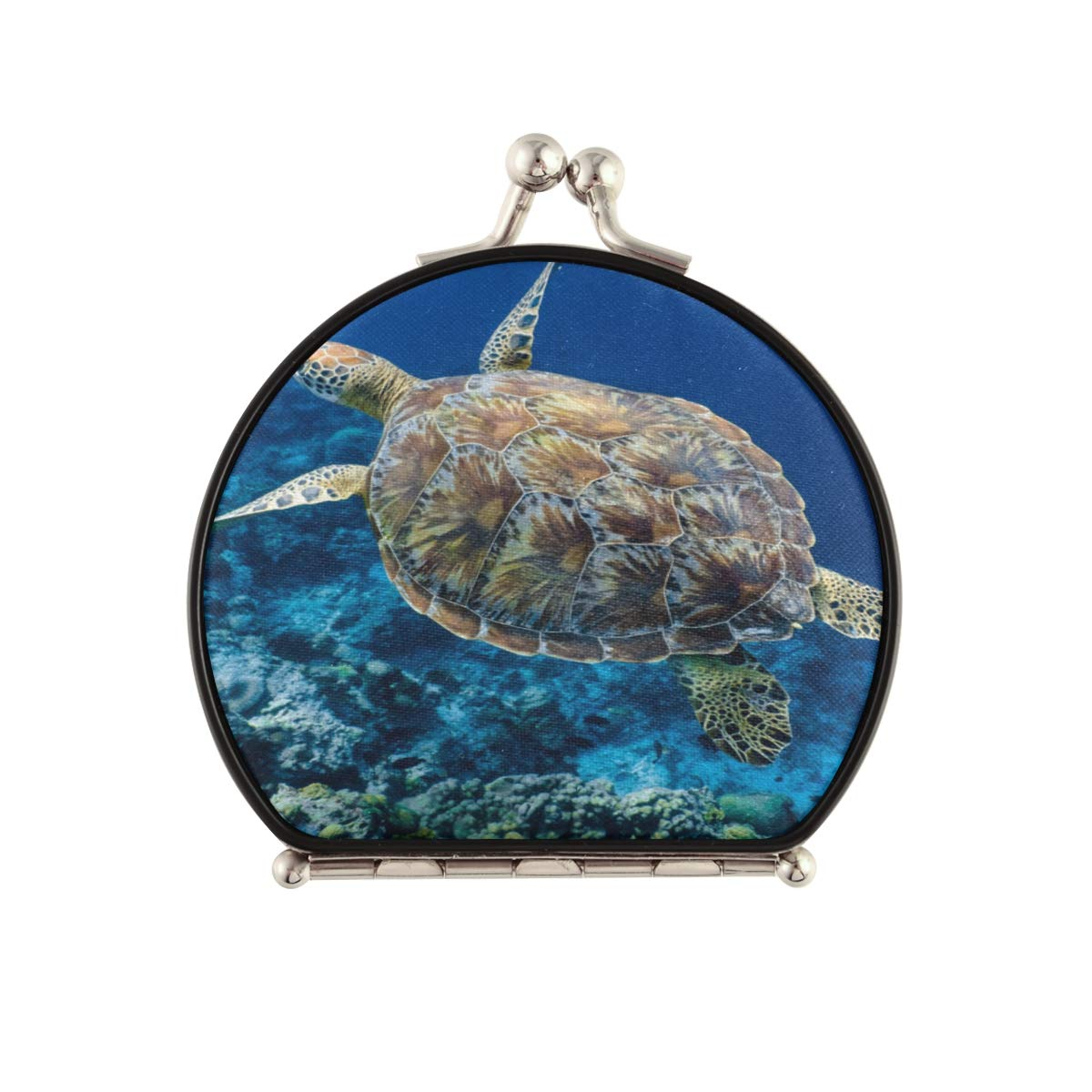 MirrorsForMakeupFlexibleTurtleInBlueOceanSmallPortableMirrorDoub Special price for a limited time All items in the store