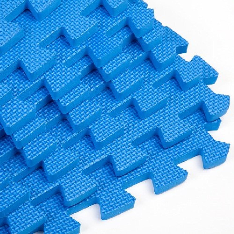 Easimat Gym übung spielen Foam Etage Interlocking Blau Mats 11.90 sqm (21126)