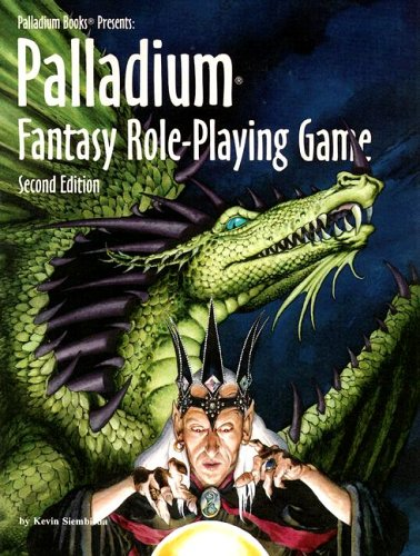Compare Textbook Prices for Palladium Books Presents: Palladium Fantasy Role-Playing Game 2 Edition ISBN 9780916211912 by Siembieda, Kevin