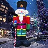 8 Foot Christmas Inflatable Nutcracker...